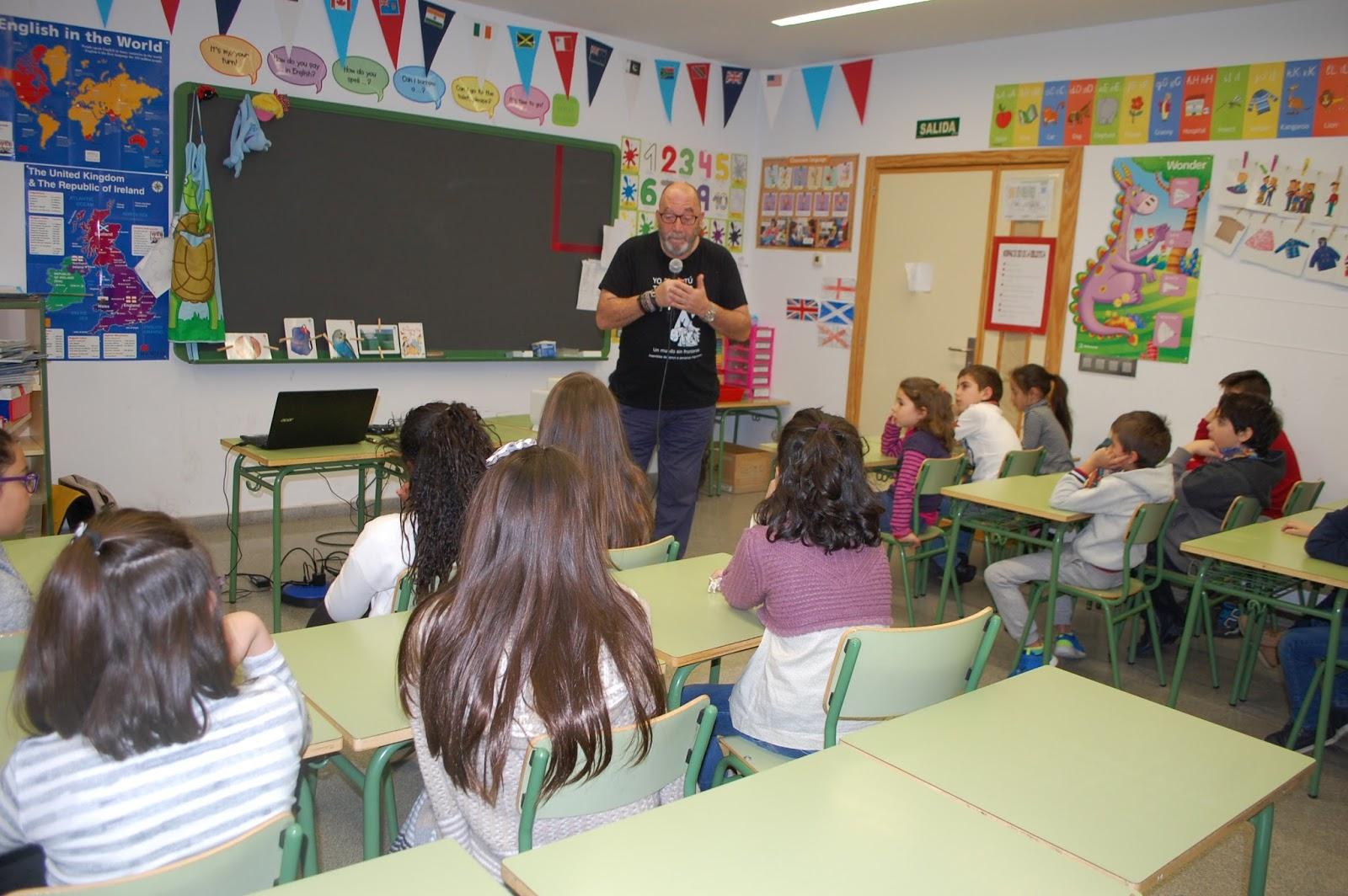 Entrevistamos a Fernando de Castro (Ferchu) Plataforma de ayuda a los refugiados de Salamanca.