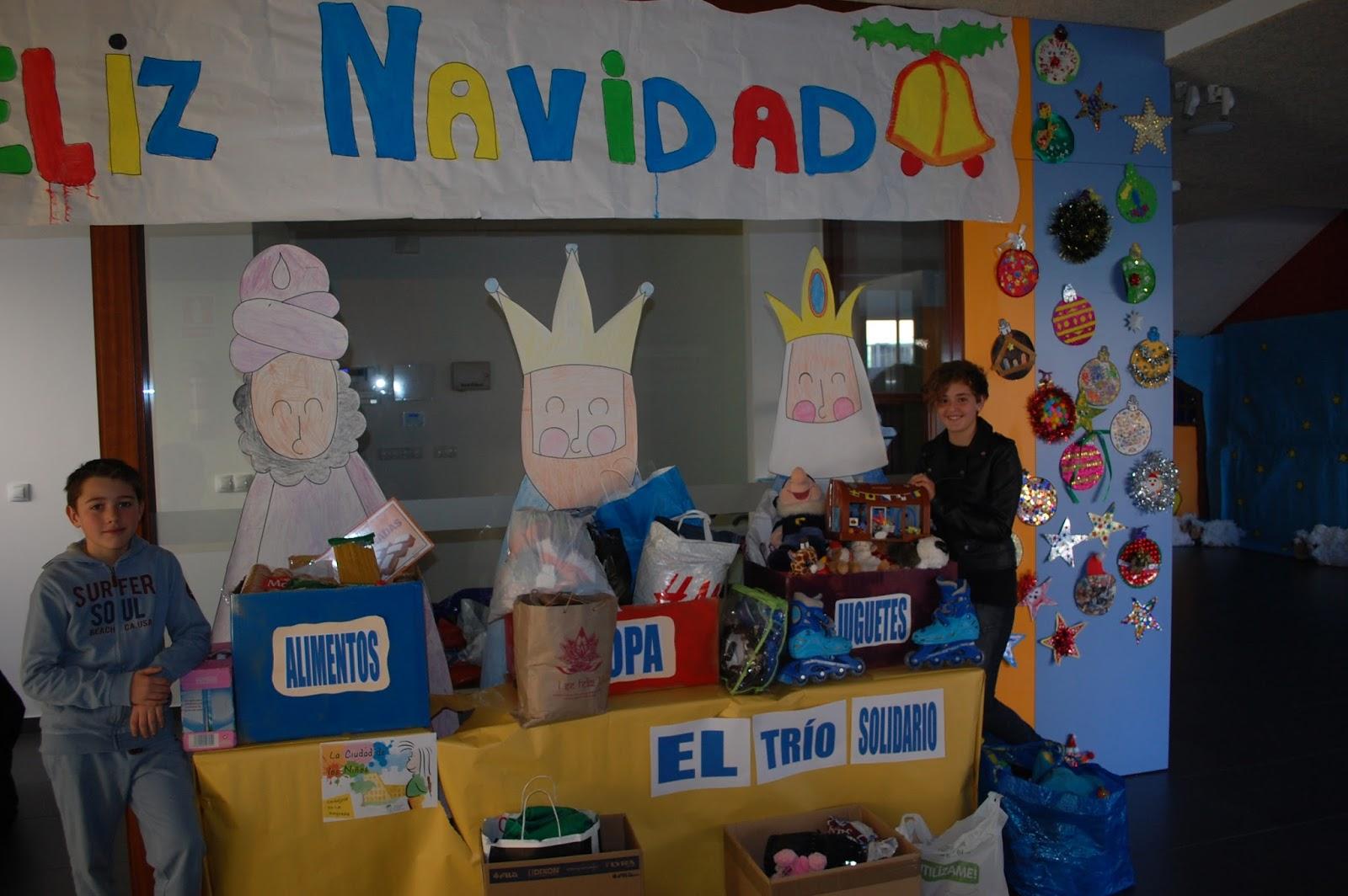 CAMPAÑA SOLIDARIA: «El Trío Solidario» Dic.2016