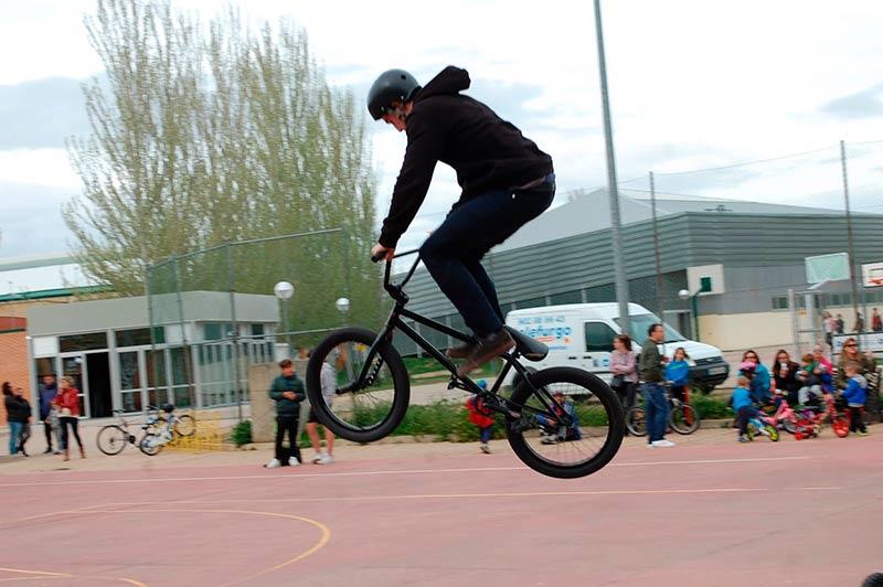 Un día de 'ciclyplay' en Carbajosa 2016