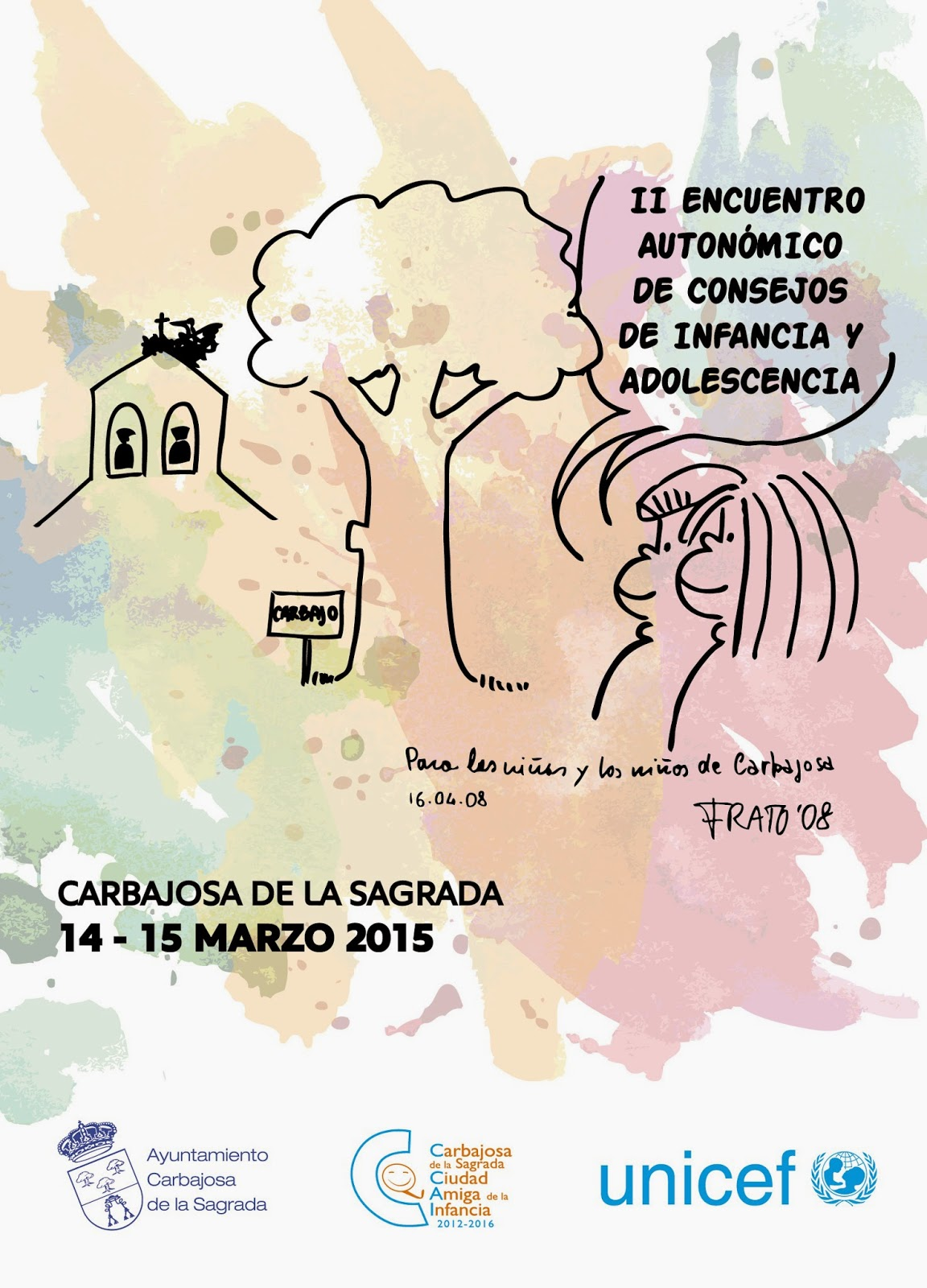 2º ENCUENTRO DE CASTILLA Y LEÓN DE CONSEJOS DE INFANCIA. ORGANIZADO DESDE CARBAJOSA