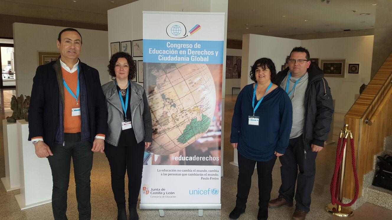 Participando en el Congreso de Educación en Derechos y Ciudadanía Global
