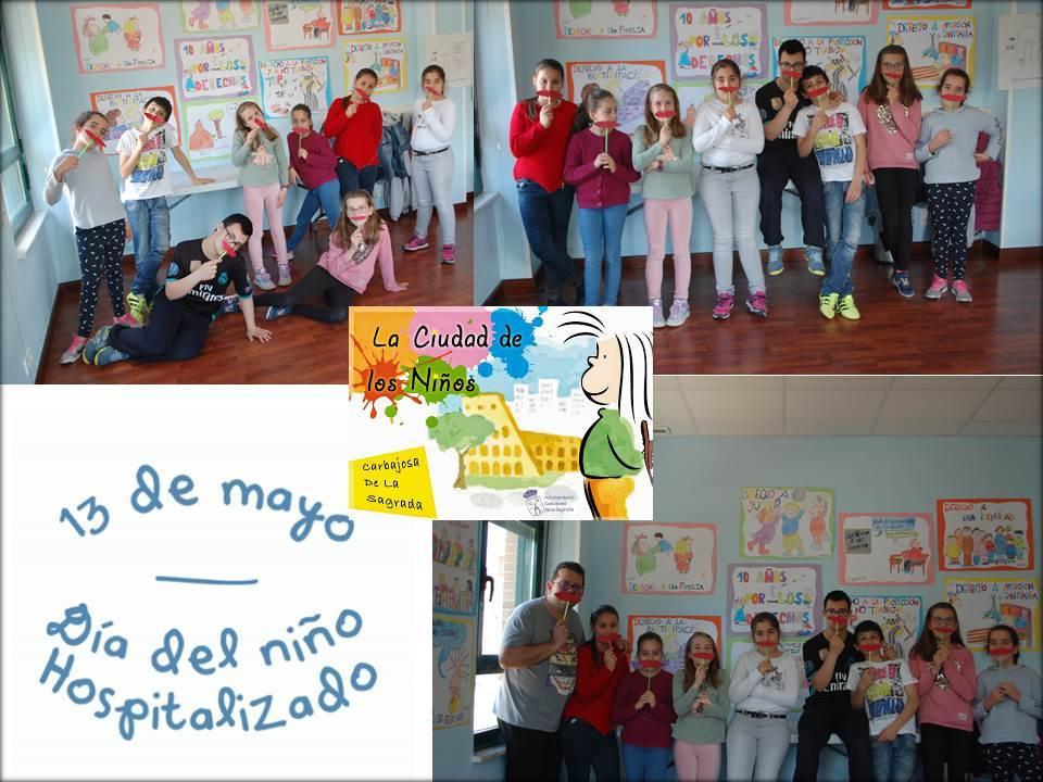 13 de mayo Día del Niño Hospitalizado