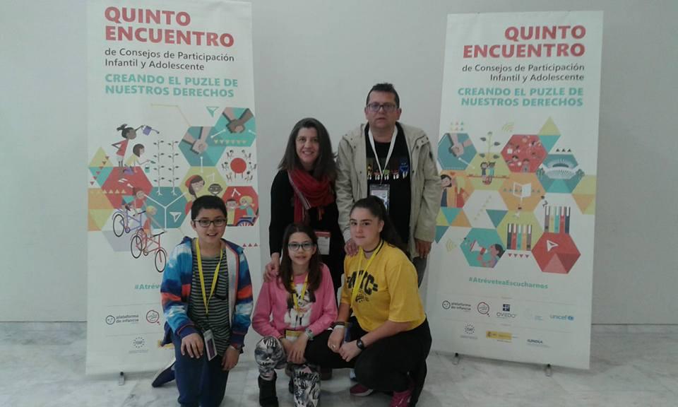 Participando en el Encuentro Estatal de Consejos en Oviedo