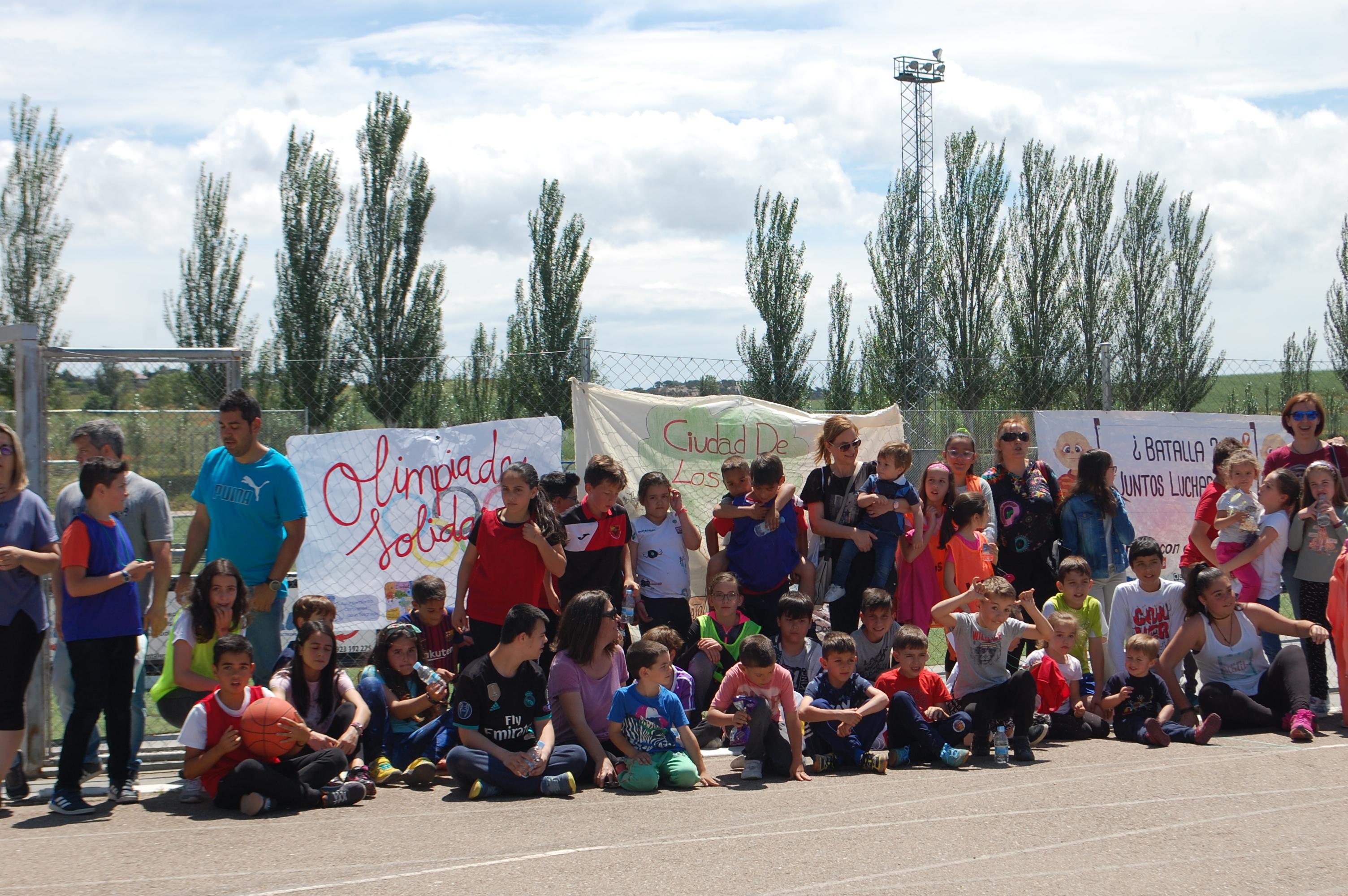 2 de junio . Olimpiada Solidaria a Favor de Pyfano.