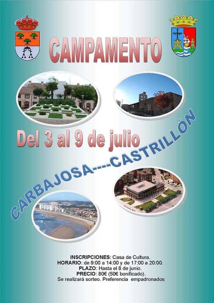 fotos Capamento Carbajosa /Catrillón 3-9 julio 2018 una experiencia GENIALLL