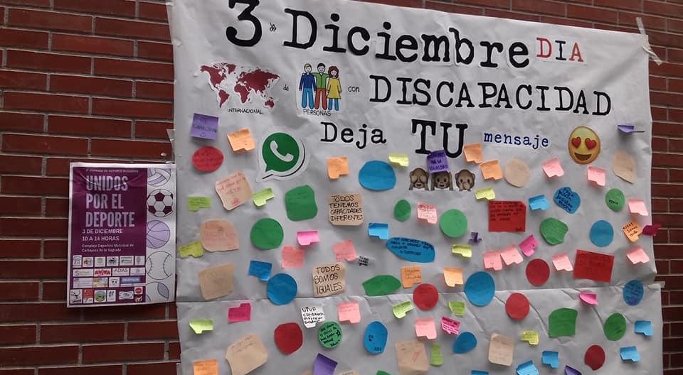 Participando en UNIDOS POR EL DEPORTE.
