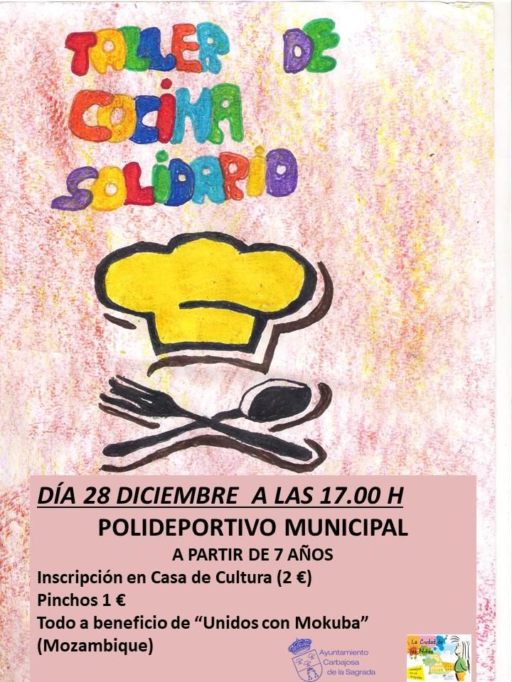 Taller de Cocina Solidario