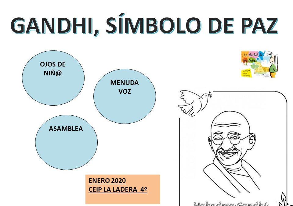 Gandhi Simbolo de Paz