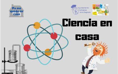 ¡¡¡NUEVOS  EXPERIMENTOS!!! Ciencia en Casa