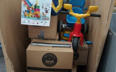 COMPARTE Y RECICLA ! HEMOS COLABORADO con cerca de 150 juguetes