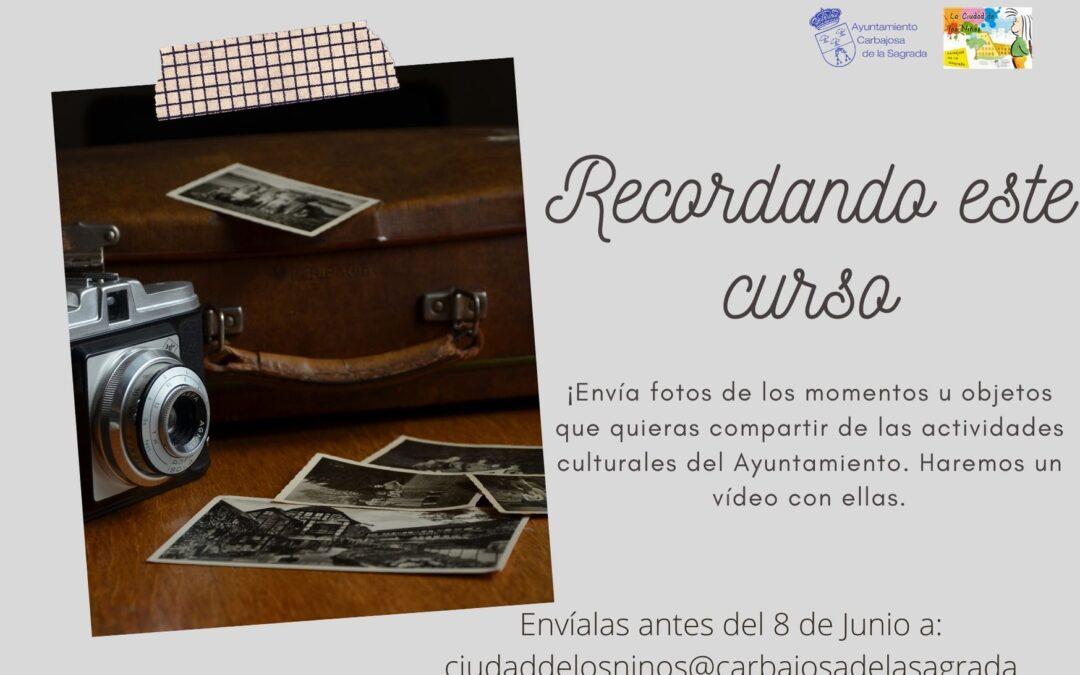 RECORDANDO!! ENVÍA TUS FOTOS