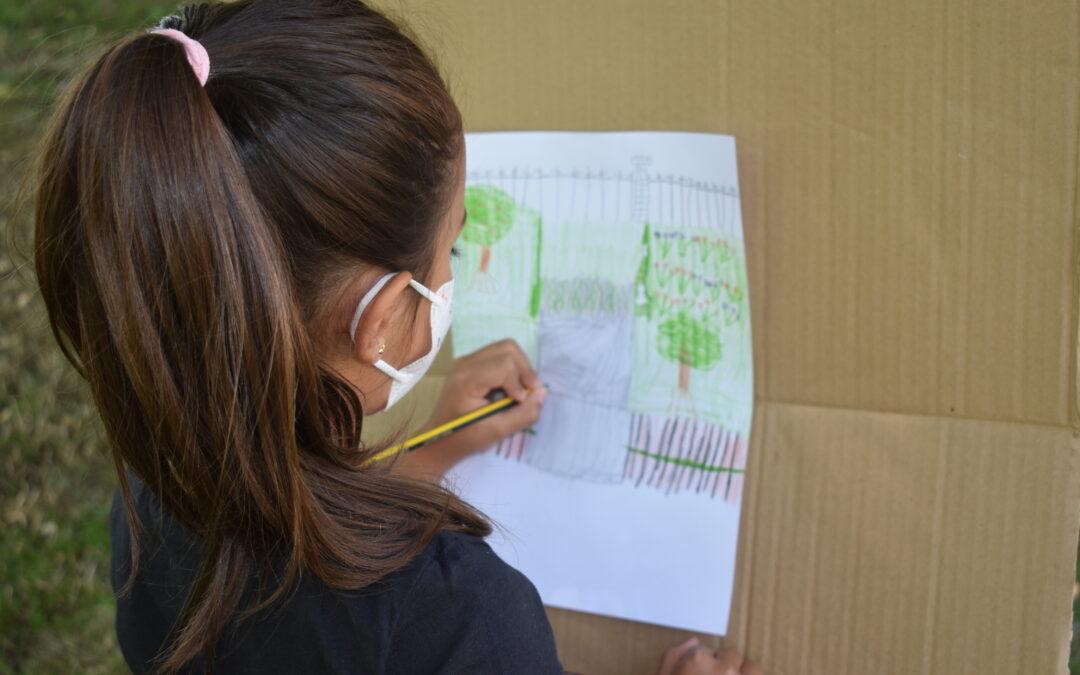 Pintura al aire libre con Caballete. ¿VIENES? ¡APUNTATE! Fotos de los días 27,28 de julio