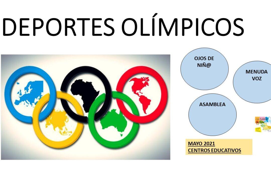 DEPORTES OLÍMPICOS .Video presentación