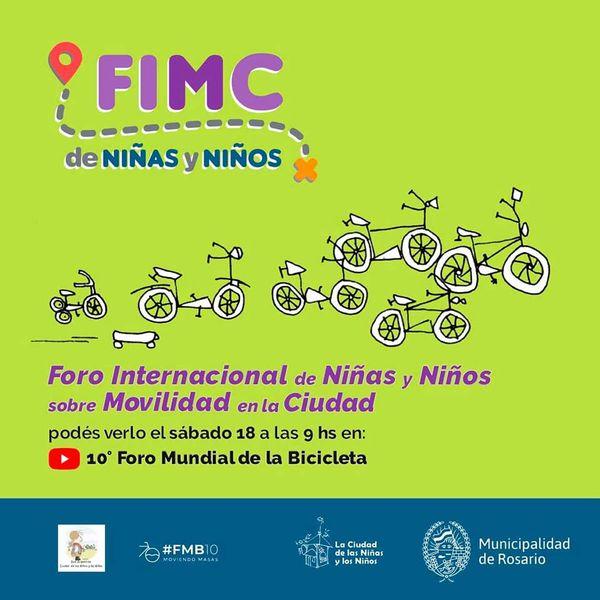 Participamos en el Foro Internacional de Niñ@s sobre movilidad en sus municipios