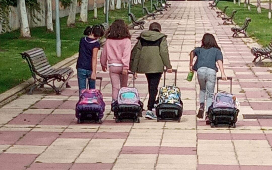 A LA ESCUELA VAMOS SOLOS. Fotos recibidas en la Semana de la movilidad. ¡¡¡¡GRACIAS!!!